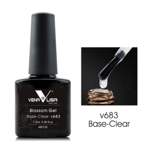 . Venalisa UV és LED Blossom gél 7.5 ml  v683 Base-Clear